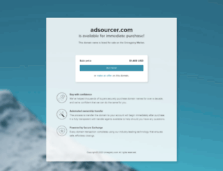 adsourcer.com screenshot