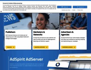 adspirit.com screenshot