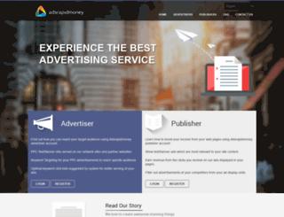 adsrapidmoney.com screenshot
