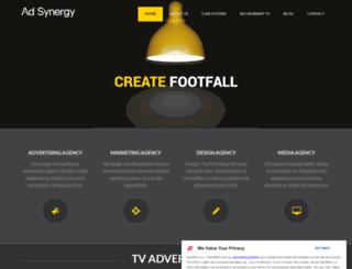adsynergy.co.uk screenshot