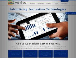 adsys.ad-sys.com screenshot