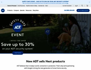 adt.com screenshot
