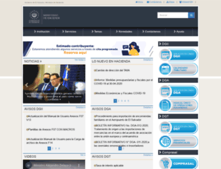 aduana.gob.sv screenshot