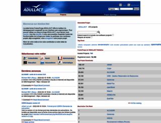 adullact.net screenshot