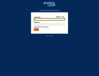 adulted-lausd-ca.schoolloop.com screenshot