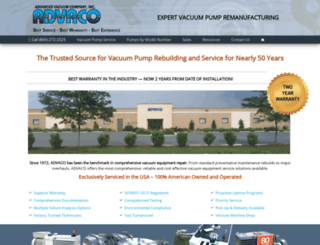 Access advaco com  Your Trusted Source for Vacuum Pump