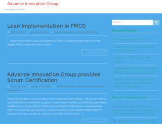 advance-innovation-group.co.in screenshot