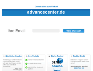 advancecenter.de screenshot