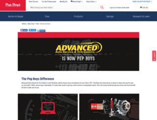 advancedauto.com screenshot