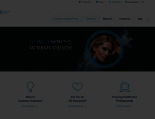advancedbionics.com screenshot