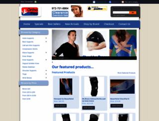 advancedbrace.com screenshot