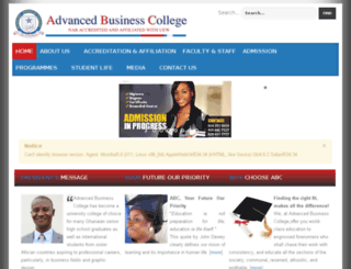 advancedbusinesscollege.com screenshot