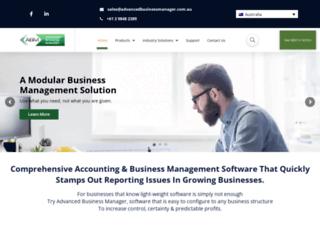 advancedbusinessmanager.com screenshot