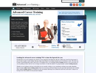 advancedcareertraining.net screenshot