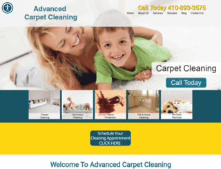 advancedcarpetandrestoration.com screenshot