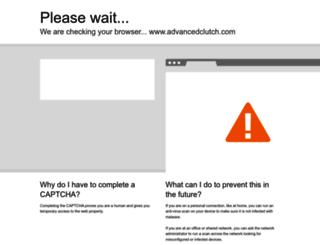 advancedclutch.com screenshot