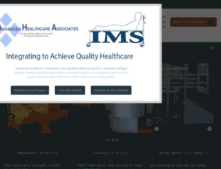 advancedhealthcareassociates.com screenshot