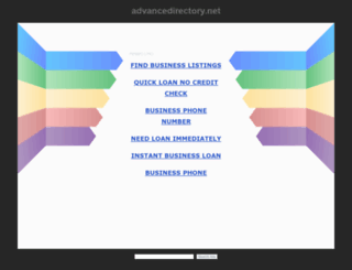 advancedirectory.net screenshot