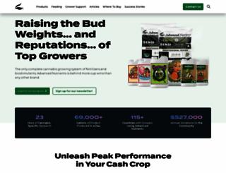 advancednutrients.com screenshot
