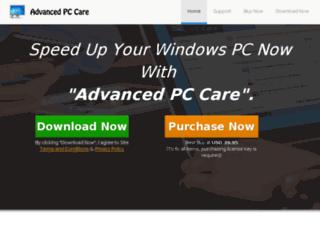 advancedpccare.com screenshot
