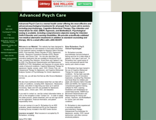 advancedpsychcare.tripod.com screenshot