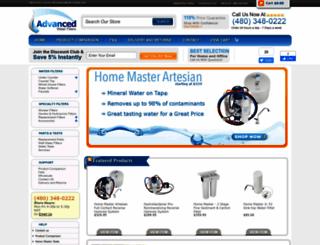 advancedwaterfilters.com screenshot