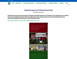 advancegreenhouses.com screenshot