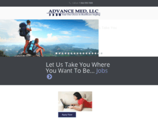 advancemed.recruitingware.com screenshot