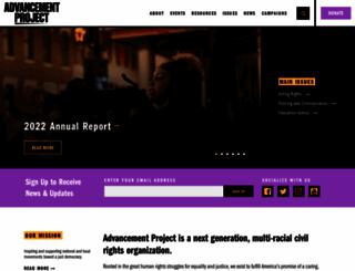 advancementproject.org screenshot