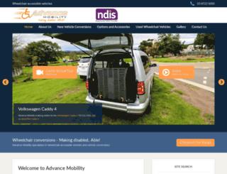 advancemobility.com.au screenshot