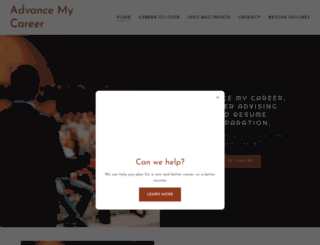 advancemycareer.com screenshot