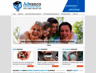 advancoinsurance.com screenshot