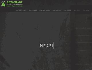 advantagebusinessmedia.com screenshot