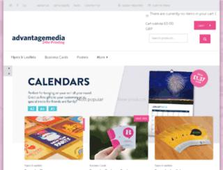 advantagedigitalmedia.co.uk screenshot