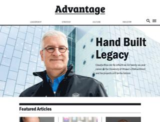 advantagemagazine.ca screenshot