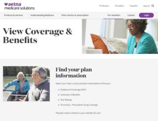 advantrarx.coventryhealthcare.com screenshot
