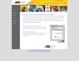 advantrentalfine.com screenshot