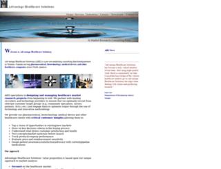 advantsolutions.ca screenshot