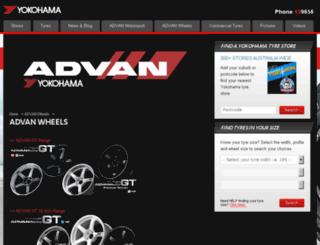 advanwheels.com.au screenshot