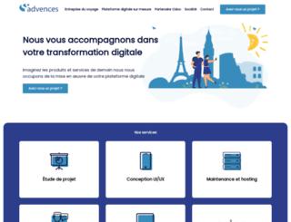 advences.com screenshot