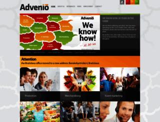 advenio.eu screenshot