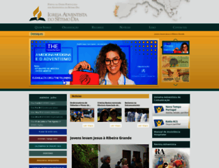 adventistas.org.pt screenshot