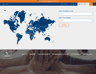 adventistrisk.org screenshot