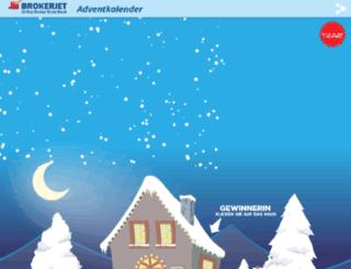 adventkalender.brokerjet.at screenshot