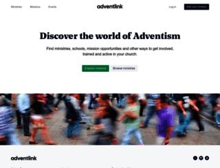 adventlink.org screenshot