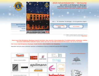 adventskalender-lions-bibi.de screenshot