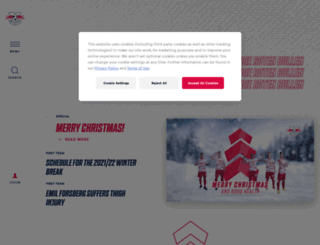 adventskalender.dierotenbullen.com screenshot