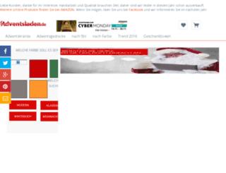 adventsladen.de screenshot