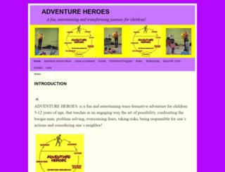 adventure-heroes.com screenshot