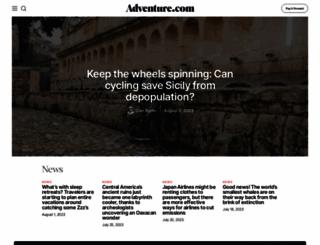 adventure.com screenshot